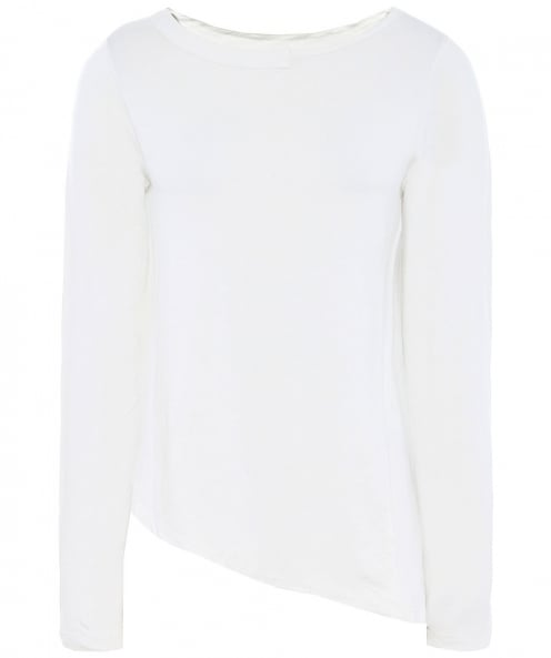 Lurdes Bergada Asymmetric Long Sleeve T-Shirt