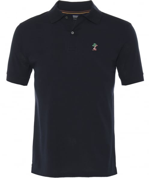 Paul Smith Pique Cotton Embroidered Lady Polo Shirt