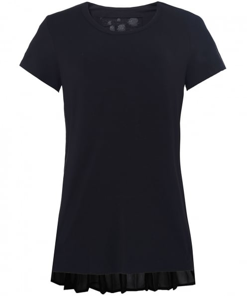 Rundholz Jersey Pleated T-Shirt