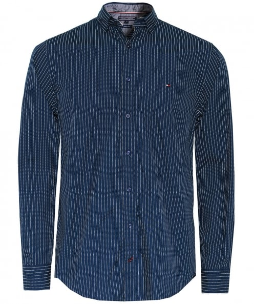 Tommy Hilfiger Regular Fit Pinstripe Shirt