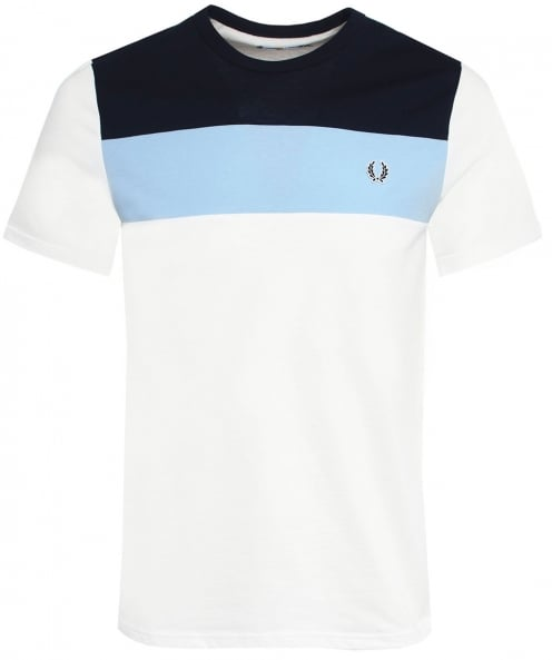 Fred Perry Colour Block T-Shirt