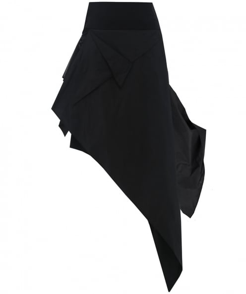 Xenia Design Asymmetric Layered Skirt
