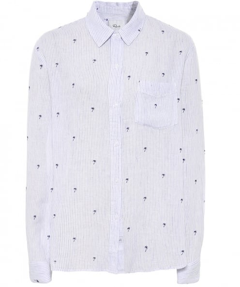 Rails Charli Palm Tree Shirt
