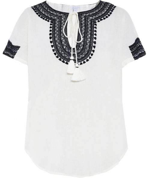 Star Mela Evie Embroidered top