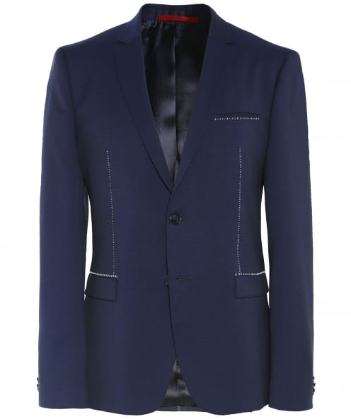 HUGO Extra Slim Fit Virgin Wool Arti Jacket