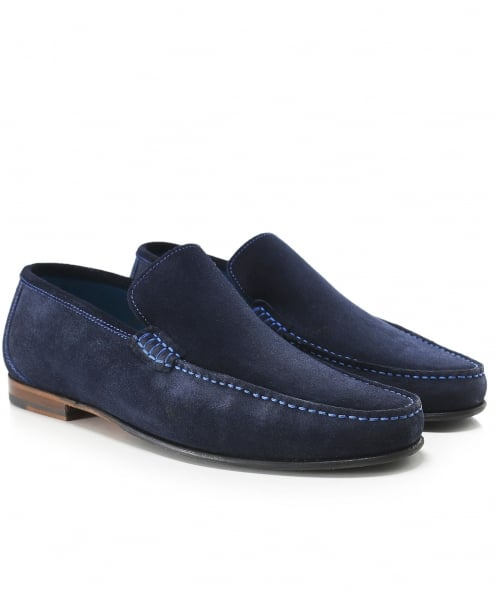 Loake Suede Nicholson Loafers