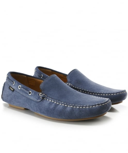 Loake Suede Donington Driving Shoes