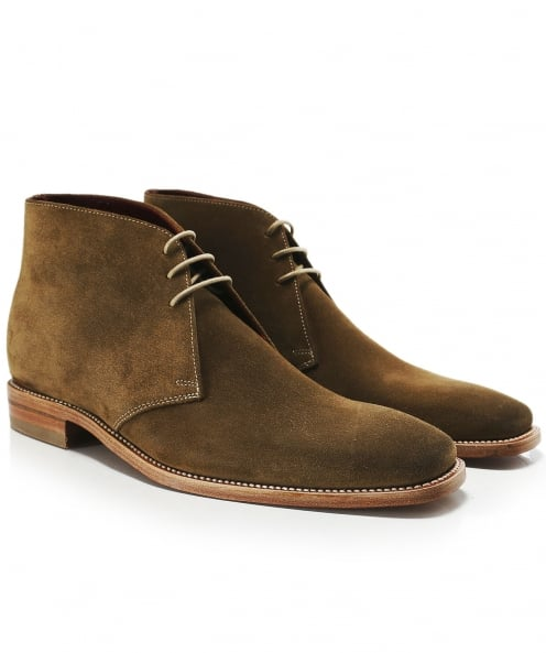 Loake Suede Trapper Chukka Boots