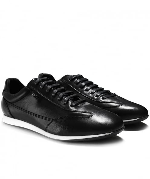 Geox Leather Clemet Trainers