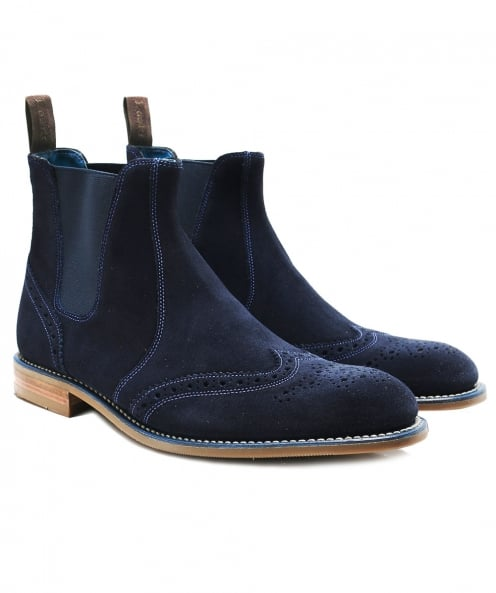 Loake Suede Hoskins Chelsea Boots