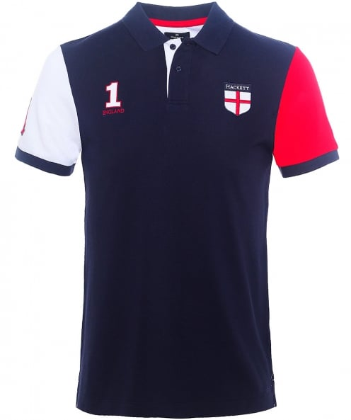 Hackett Classic Fit England Polo Shirt