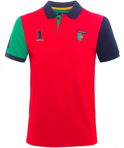 Hackett Classic Fit Portugal Polo Shirt