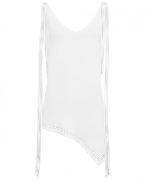 Charli Asymmetric Stella V-Neck Top