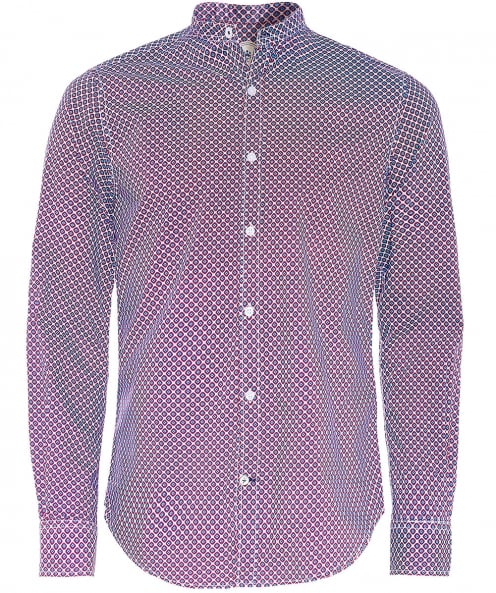 Ganesh Slim Fit Geometric Print Shirt
