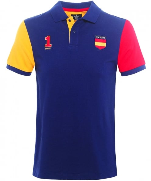 Hackett Classic Fit Spain Polo Shirt