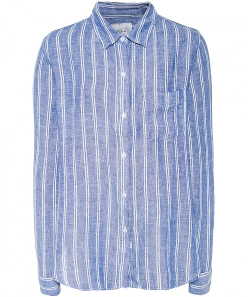 Rails Linen Blend Striped Charli Shirt