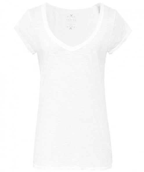Velvet by Graham and Spencer Sumette Scoop Neck T-Shirt