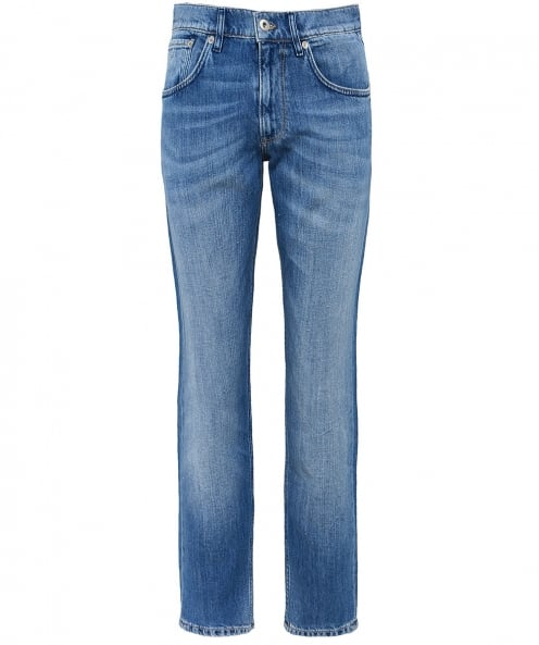 Gant Relaxed Fit Linen Blend Jeans