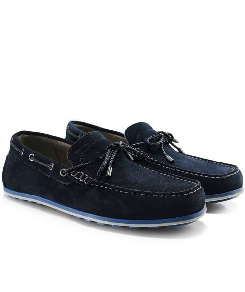 Geox Suede Mirvin Boat Shoes