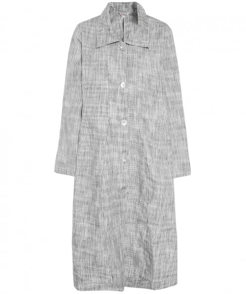 Thanny Linen Longline Jacket Dress