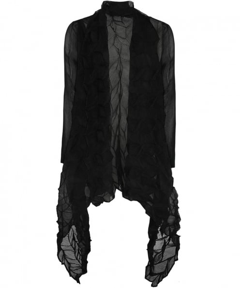 Thanny Chiffon Waterfall Cardigan