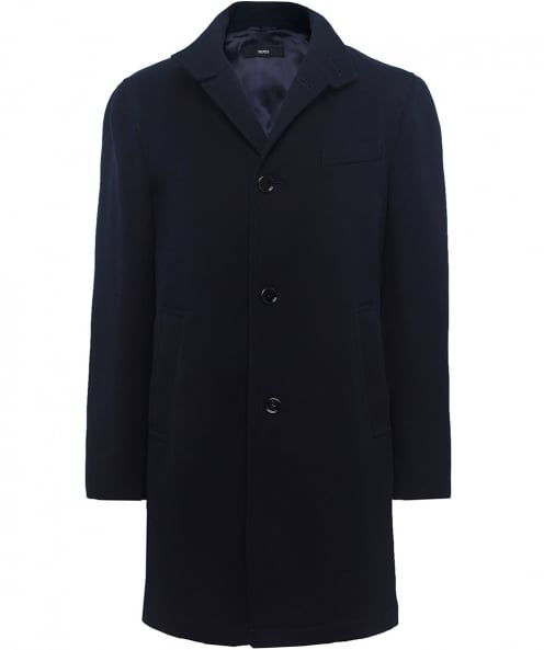 BOSS Slim Fit Textured Shanty Coat