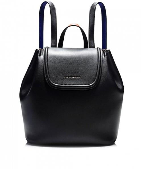 Armani Faux Leather Minimal Backpack