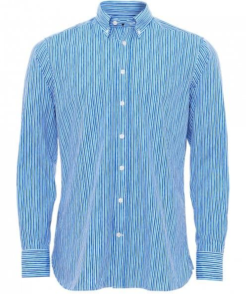 Hackett Slim Fit Tonal Striped Shirt