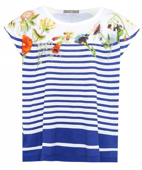 High Glance Striped T-Shirt