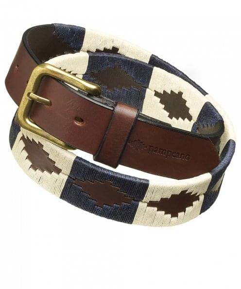 Pampeano Leather Jugadoro Polo Belt