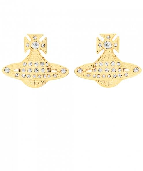 Vivienne Westwood Accessories Mini Bas Relief Earrings