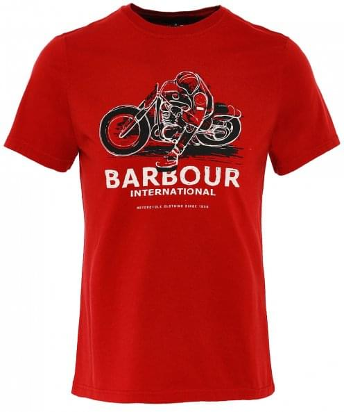 Barbour International Tailored Fit Turn T-Shirt