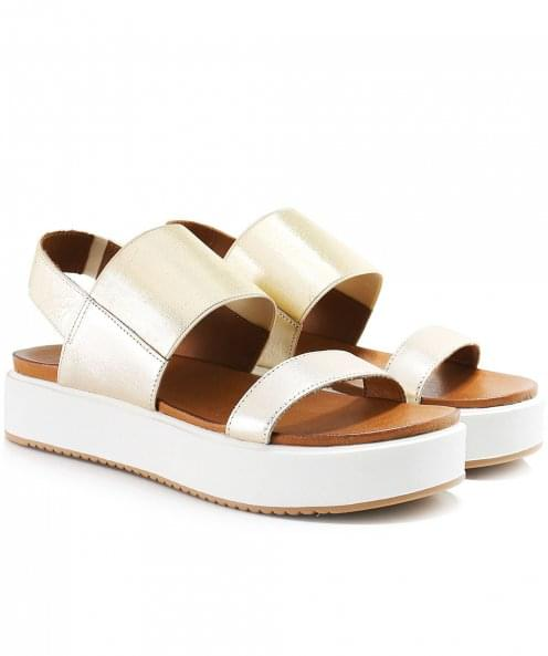 Inuovo Double Bar Slingback Sandals