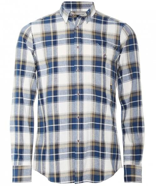 Barbour International Tailored Fit Check Spiral Shirt