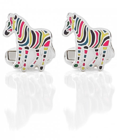 PS by Paul Smith Stripe Zebra Cufflinks