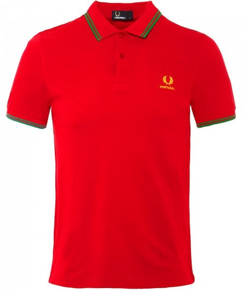 Fred Perry Twin Tipped Portugal Polo Shirt