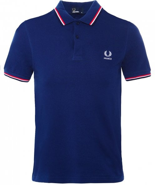 Fred Perry Twin Tipped France Polo Shirt