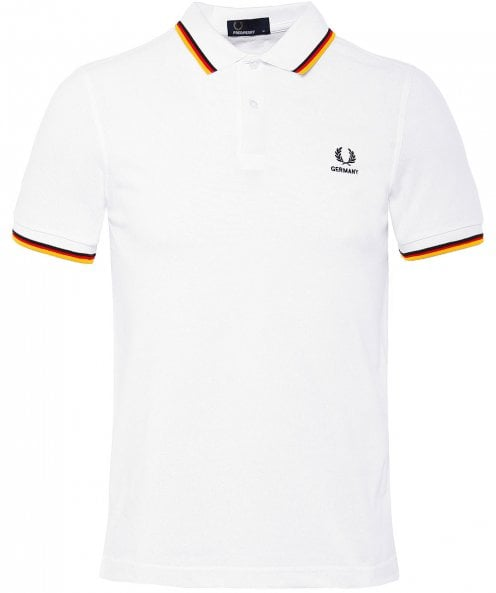 Fred Perry Twin Tipped Germany Polo Shirt