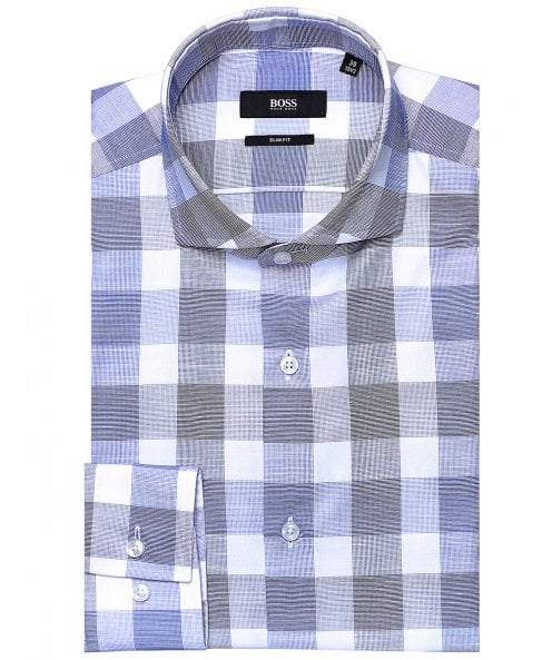 BOSS Slim Fit Check Jason Shirt