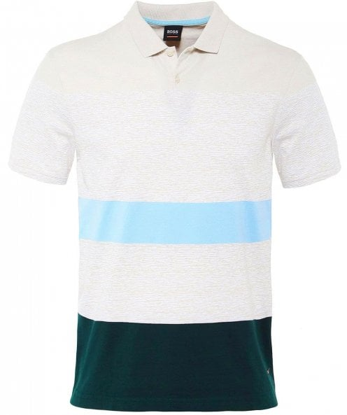 BOSS Casual Mixed Stripe Payback Polo Shirt