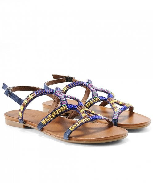 Inuovo Beaded Sandals