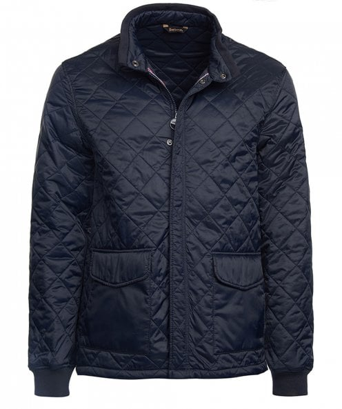 Barbour International Cross Quilted Jacket