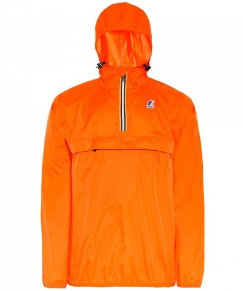 K-Way Water Resistant Half-Zip Le Vrai Leon 3.0 Jacket