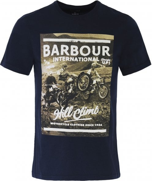 Barbour International Tailored Fit Climb T-Shirt