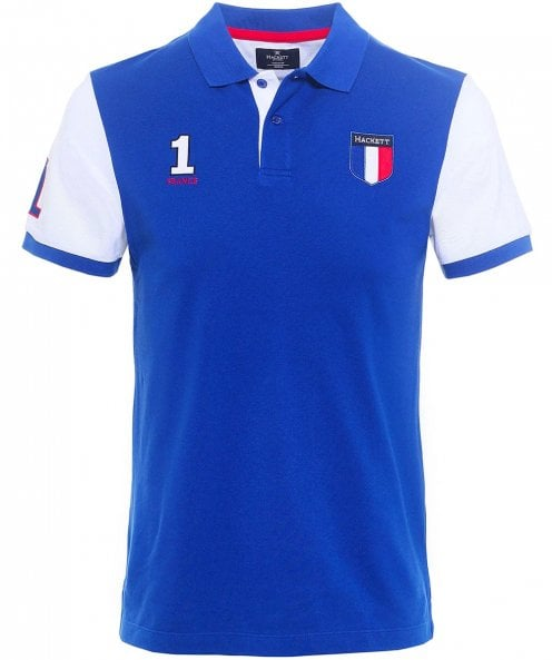 Hackett Classic Fit France Polo Shirt