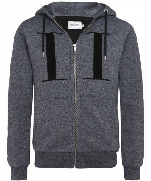 Les Deux Regular Fit Zip-Through Carterton Hoodie