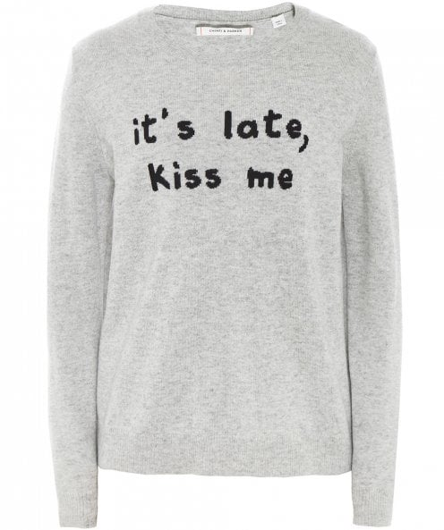 Chinti and Parker Cashmere Kiss Me Jumper
