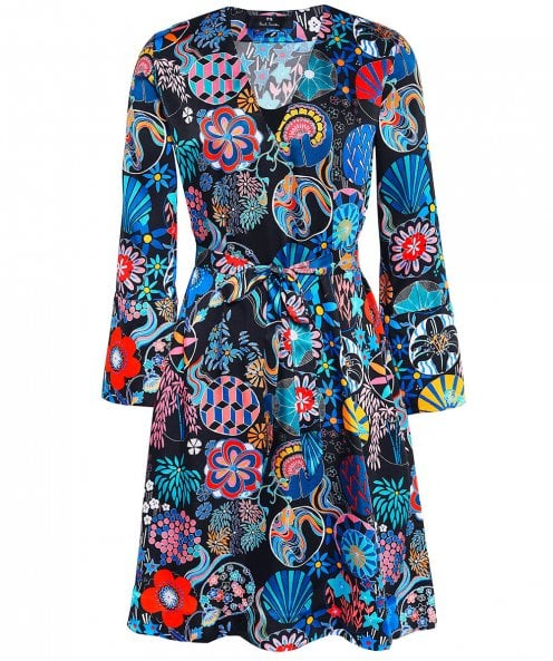 PS by Paul Smith Enso Floral Print Dress