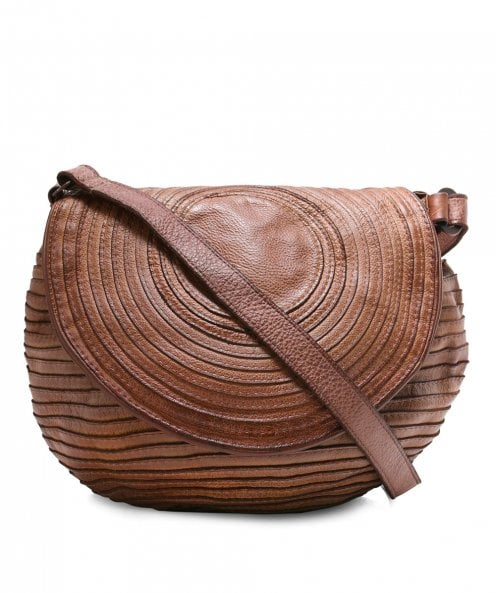 Majo Small Leather Slouchy Bag