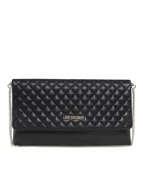 Moschino Love Moschino Quilted Chain Crossbody Bag